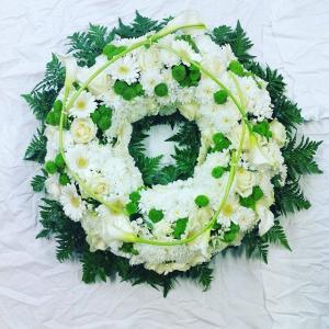 fleurs deuil