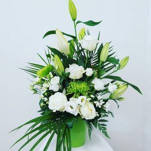composition florale anniversaire